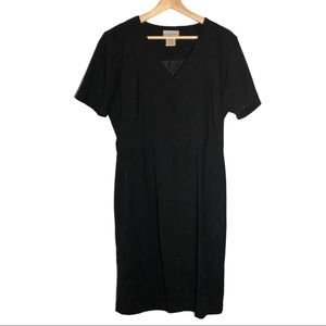 Studio C black dress size 12